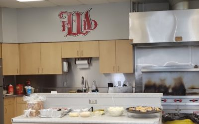 Lunch catered for the Willoughby Fire Department